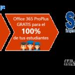 Windows y Office 365 GRATIS para todos sus alumnos