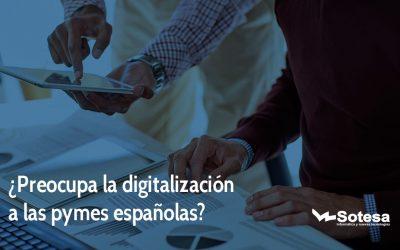 ¿Preocupa la digitalización a las pymes españolas?