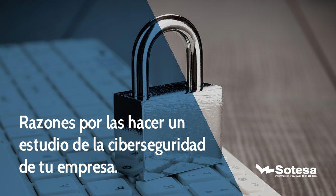Razones por las hacer un estudio de la ciberseguridad de tu empresa